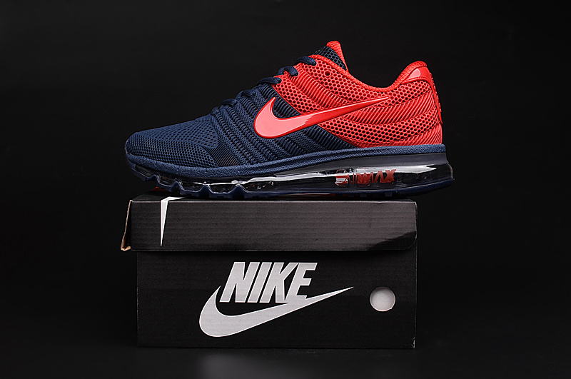 premium selection 52d12 76c89 billig Air Max 2017 rot marineblau