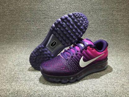 wholesale dealer 77400 17121 billig Nike Air Max 2017 Damen Laufschuhe lila rosa schwarz