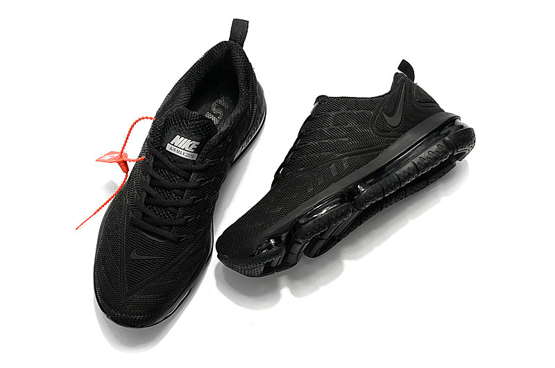 billig nike air max 2019 herren dreifach schwarz nike. Black Bedroom Furniture Sets. Home Design Ideas