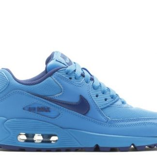 new product bbeb9 6178c billig Nike Air Max 90 (GS) 307793-408 Foto blau-tief royal blau