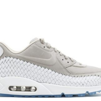 new products 43cc9 46863 billig Nike Air Max 90 gewebt 833129-005 Licht Eisenerz weiß
